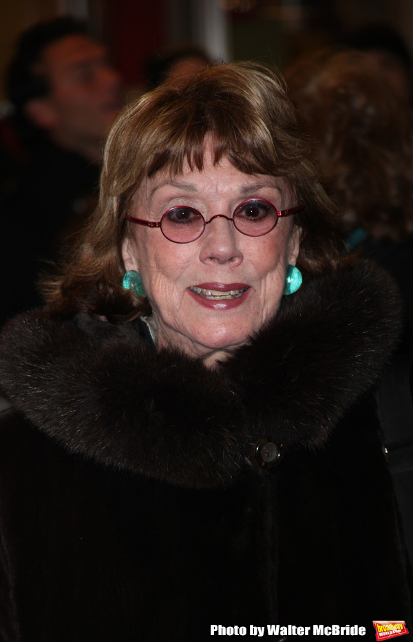 Phyllis Newman arriving for the Opening Night Performance of PRESENT LAUGHTER at the  Photo