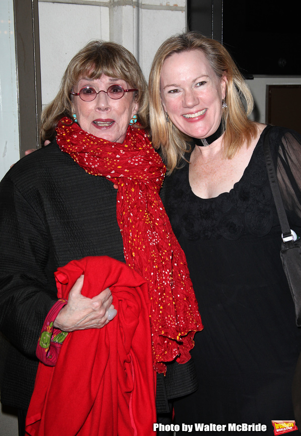 Phyllis Newman & Kathleen Marshall.at the Opening Night Performance of the Manhattan  Photo