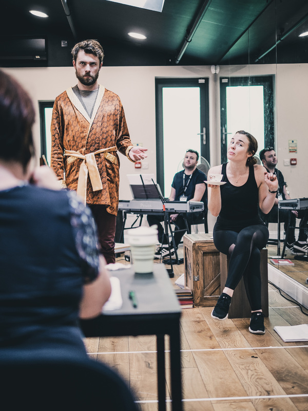 Photo Flash: In Rehearsal For DADDY LONG LEGS At The Barn Theatre