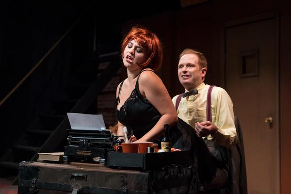 Samantha La Mendola as Sally and Michael Schaner as Clifford