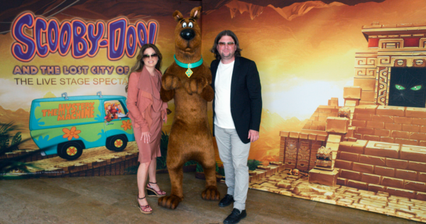 Photo Flash: First Look At SCOOBY-DOO & THE LOST CITY OF GOLD Live!