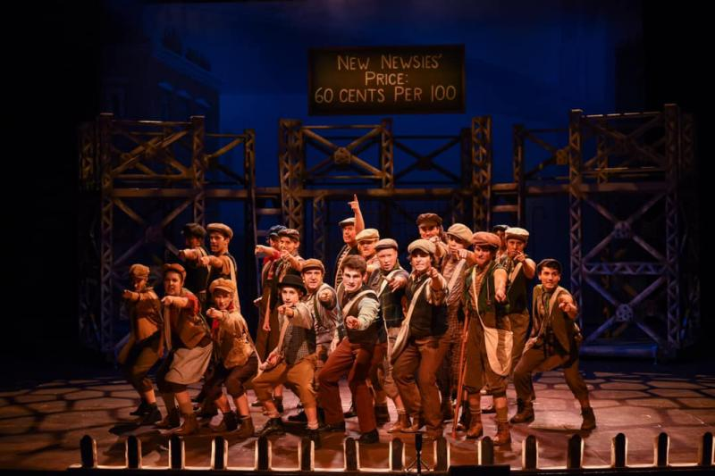 BWW Review: Sizzling Production of NEWSIES Lights Up Greenville Theatre