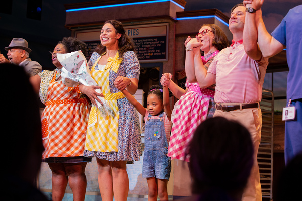Photo Coverage: Jordin Sparks Opens Up Her Run in WAITRESS! Check Out Photos From Her First Curtain Call