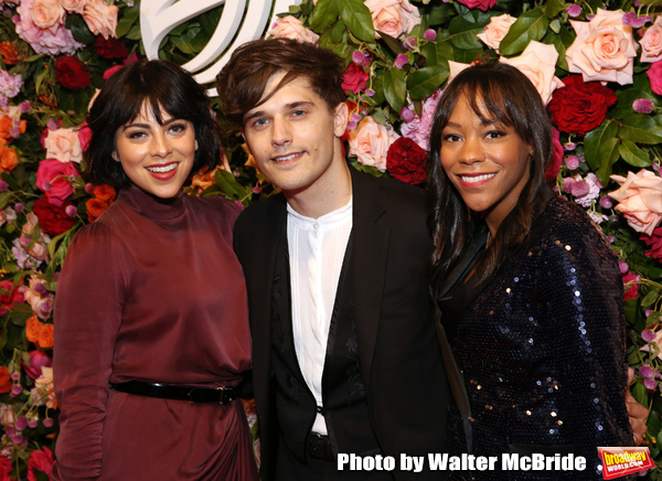 Krysta Rodriguez, Andy Mientus and Nikki M. James