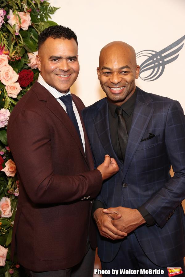 Christopher Jackson and Brandon Victor Dixon