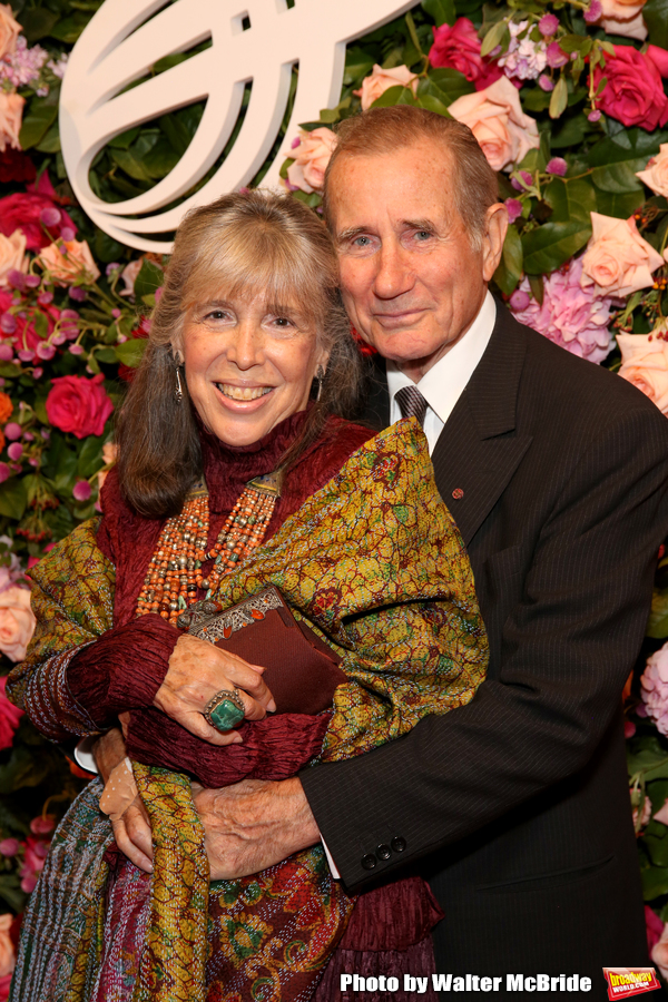 Julie Schafler and Jim Dale Photo