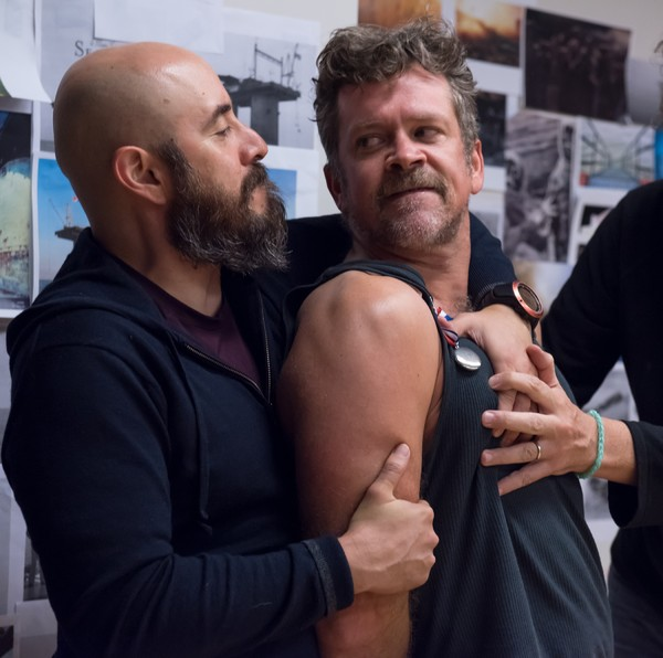 Photo Flash: Inside Rehearsal For The COOP's TERRA FIRMA