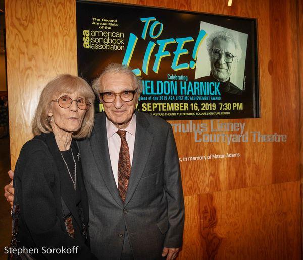 Margery Gray & Sheldon Harnick Photo