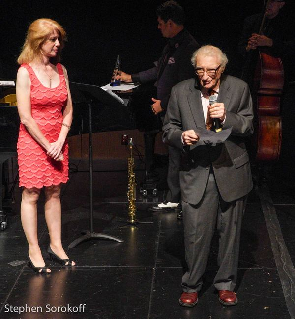 Deborah Grace Winer & Sheldon Harnick