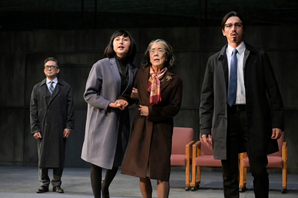 Paul Nakauchi (Jiro), Yurié Collins (Reiko), Sharon Omi (Etsuko), and Julian Cihi  Photo