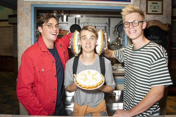 Byron Langley and Casper Lee join Joe Sugg