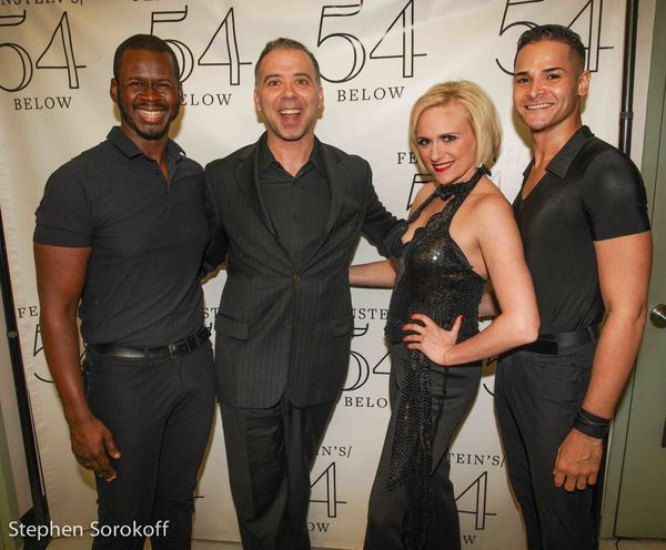 Rashaan James, Andrew Black,Choreographer, Haley Swindal, Waldemar Quinoes-Vallanueva Photo