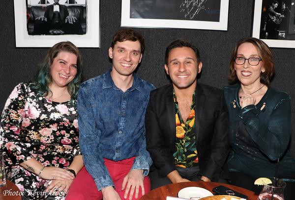 Kristin Dausch, Andrew Swackhamer, Nicolas King, Susie Mosher Photo