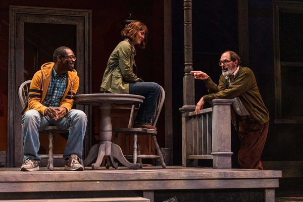 Jeremy Keith Hunter as Hal, Katie Kleiger as Catherine, Bruce Randolph Nelson as Robert