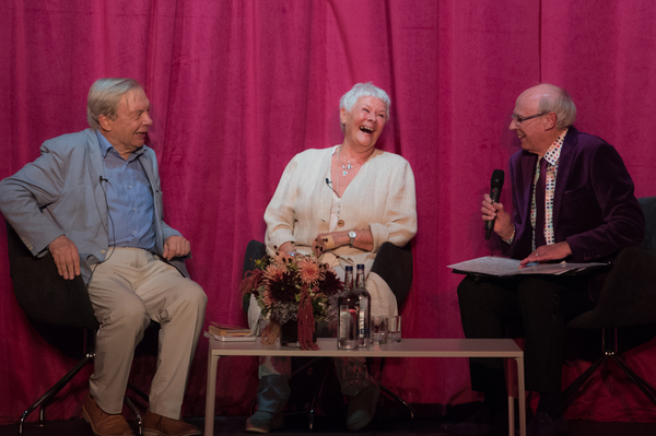 Photo Flash: Dame Judi Dench Reopens the Ashcroft Playhouse