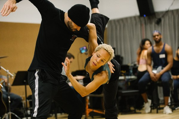Photo Flash: In Rehearsal with THE WRONG MAN, Previews Begin Tonight
