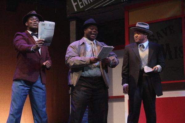 James T. Lane, Darius Nelson, Ray Dimaano Photo