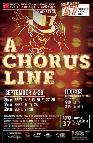 BWW Review: A CHORUS LINE Kicks Off Roxy Regional Theatre's 37th Season In Style