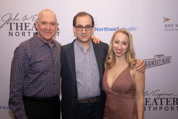 David Hess, Matt Kunkel and Emma Gassett