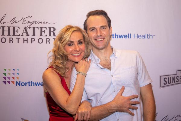 Judy McLane and Bryant Martin
