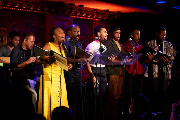 Photo Flash: Andy Blankenbuehler Directs FIVE POINTS Featuring Beth Leavel, Christopher Sieber, And More At Feinstein's/54 Below