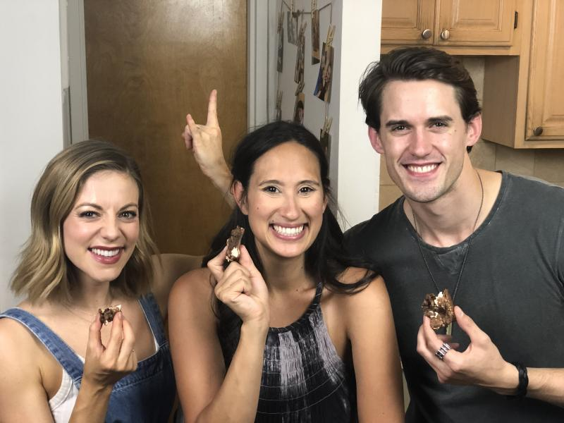 Backstage Bite with Katie Lynch: ROCK OF AGES' CJ Eldred& Kirsten Scott Blow The Roof Off The Kitchen
