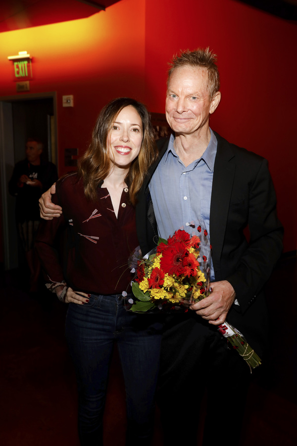 Center Theatre Group Associate Artistic Director Lindsay Allbaugh and creator/performer Bill Irwin