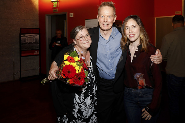 Lora K. Powell, creator/performer Bill Irwin and Center Theatre Group Associate Artistic Director Lindsay Allbaugh