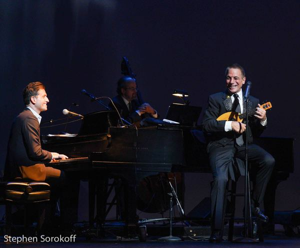 Peter Cincotti & Tony Danza Photo
