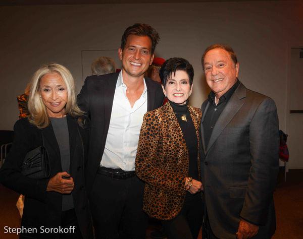 Eda Sorokoff, Peter Cincotti, Arlene Lazare, Allan Lazare Photo