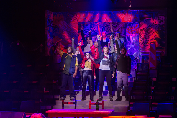 Photo Flash: Hunter Foster and Jennifer Cody Co-Direct Redhouse's RENT