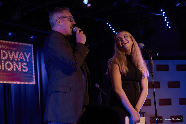Photo Flash: BROADWAY SESSIONS Celebrates The Cast Of HADESTOWN