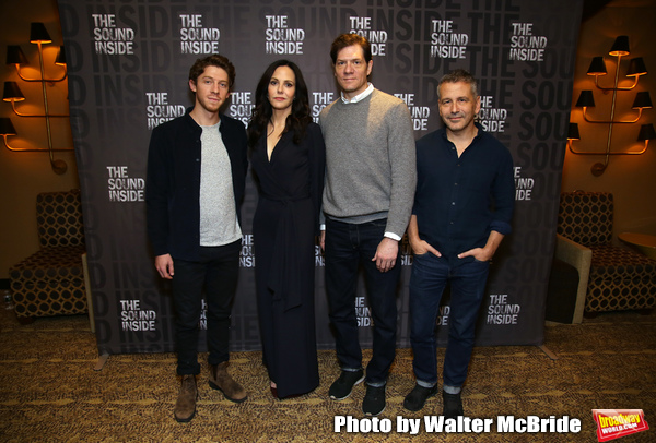 FREEZE FRAME: Meet the Cast of THE SOUND INSIDE on Broadway!