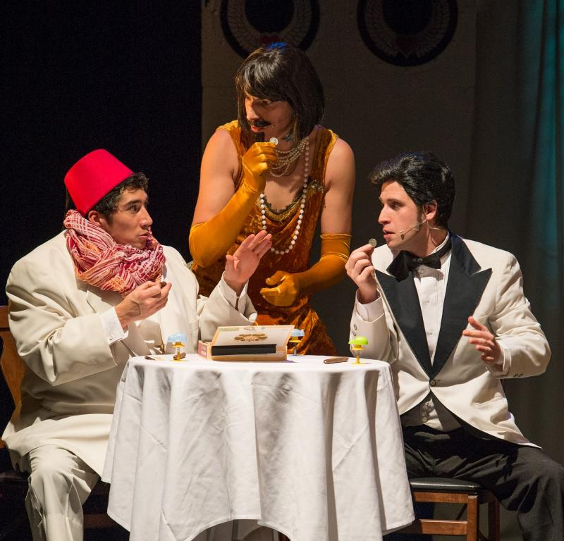 BWW Review: CLUB SANDWICH with The Flying Karamazov Brothers is a Delightful Hot Mess