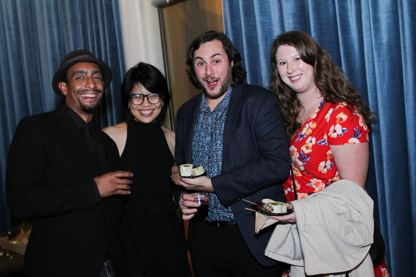 Rasean Davonte Johnson, Pornchanok (Nok) Kanchanabanca, Michael Commendatore and Katie Travers