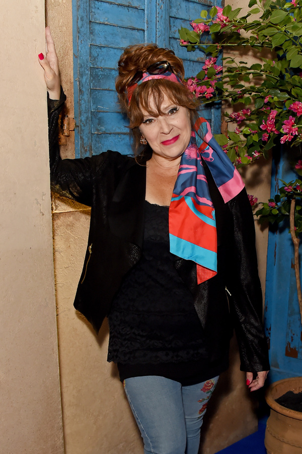 Harriet Thorpe attends the opening night of MAMMA MIA! The Party Photo