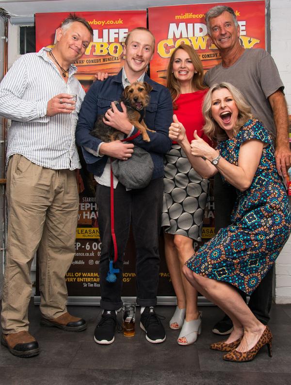 Photo Flash: MIDLIFE COWBOY Celebrates Opening Night