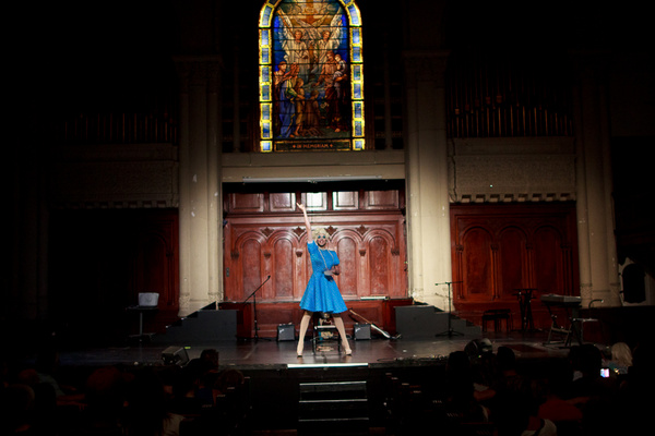 Photo Flash: STAY MAD, MAKE ART A Benefit Concert For Immigrant Families Together
