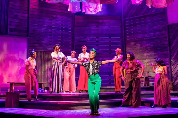 Eben K. Logan and the cast of The Color Purple Photo