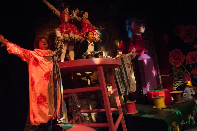 BWW Review: Café Nordo's VIOLET'S ATTIC Creepy Fun but a Bit Undercooked