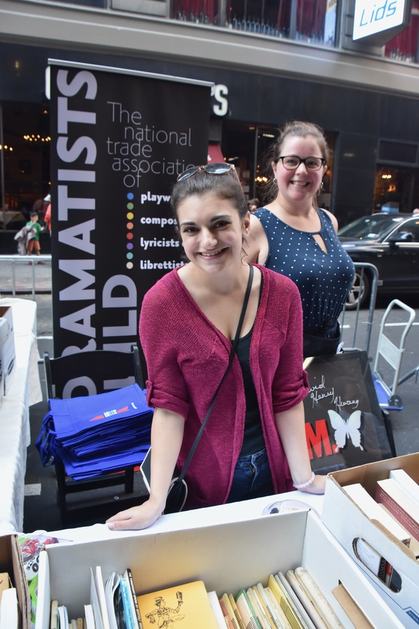 Photo Coverage: A Look Inside the Tables at the Broadway Cares/Equity Fights AIDS Flea Market