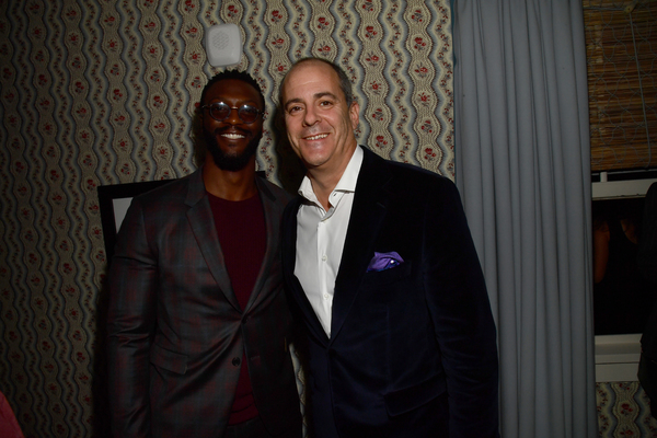 Aldis Hodge and Chief Creative Office, CBS Corporation, Chairman and CEO of Showtime Networks Inc. David Nevins