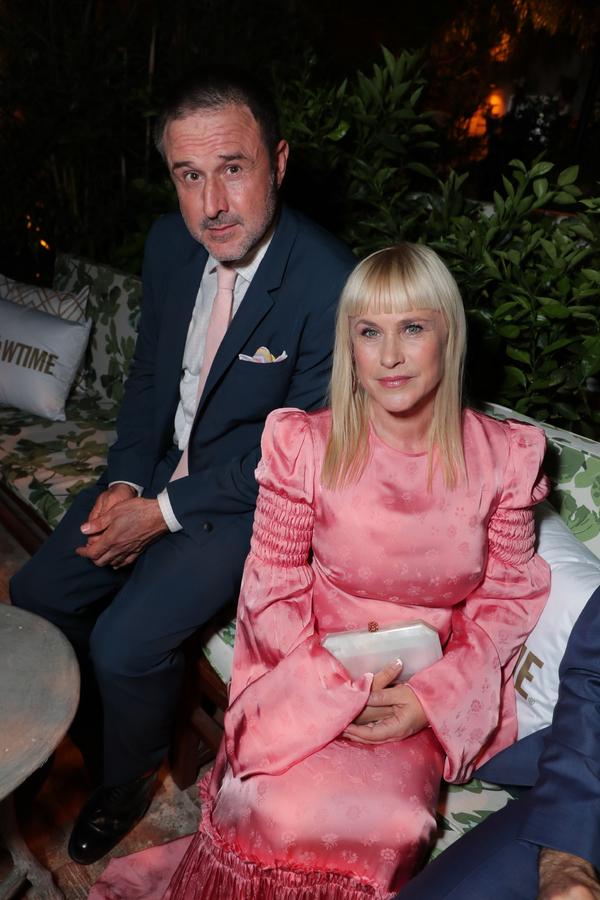 David Arquette and Patricia Arquette  Photo