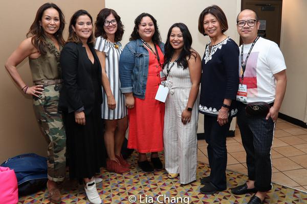 Karen Elizaga, Diane Paragas, Annie Howell, Cecilia R. Mejia, Kat Evasco, Loida Nicol Photo
