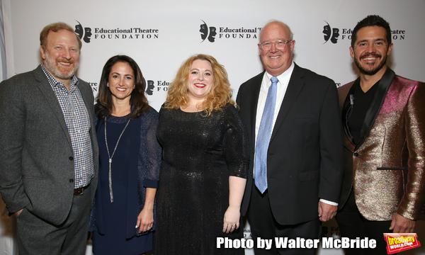 Hunter Bell, Julie Cohen Theobald, Kim Rogers, Matt Conover and Hans Weichhart Photo