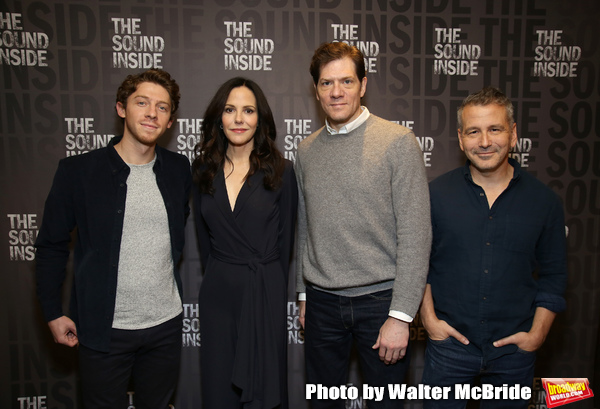 Will Hochman, Mary-Louise Parker, Adam Rapp and David Cromer