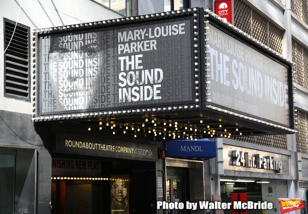 Up On The Marquee: THE SOUND INSIDE Comes to Broadway