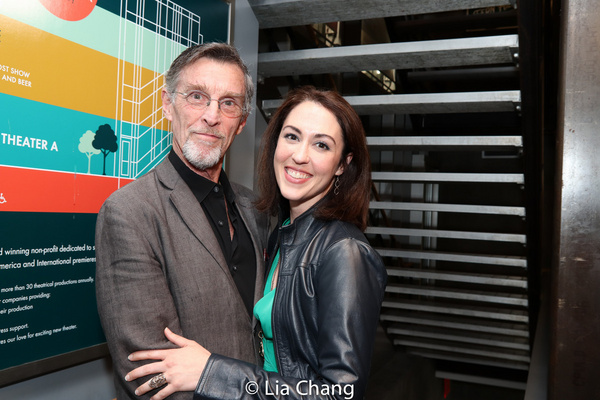 John Glover and Kelley Curran Photo