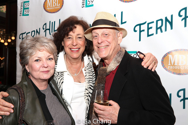 Ellen Parker, Lynne Meadow and Mark Blum