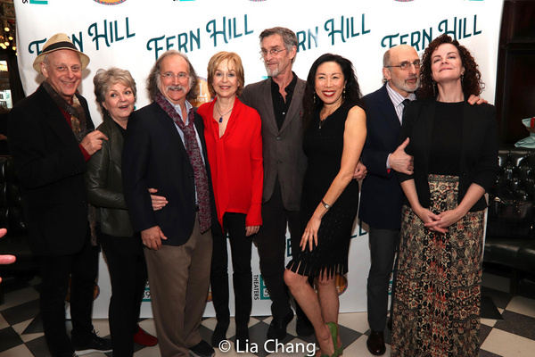Mark Blum, Ellen Parker, Mark Linn-Baker, Jill Eikenberry, John Glover, Jodi Long, Philip Hoffman and Pilar Witherspoon